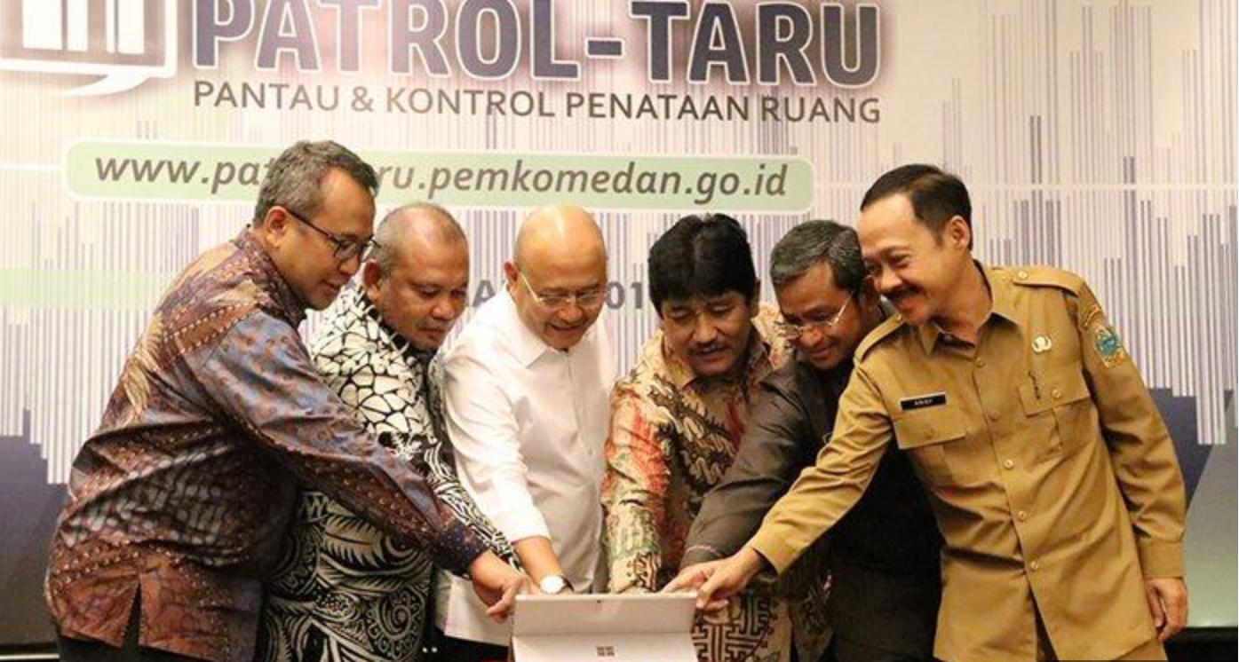 Launching Aplikasi Patroltaru Kota Medan