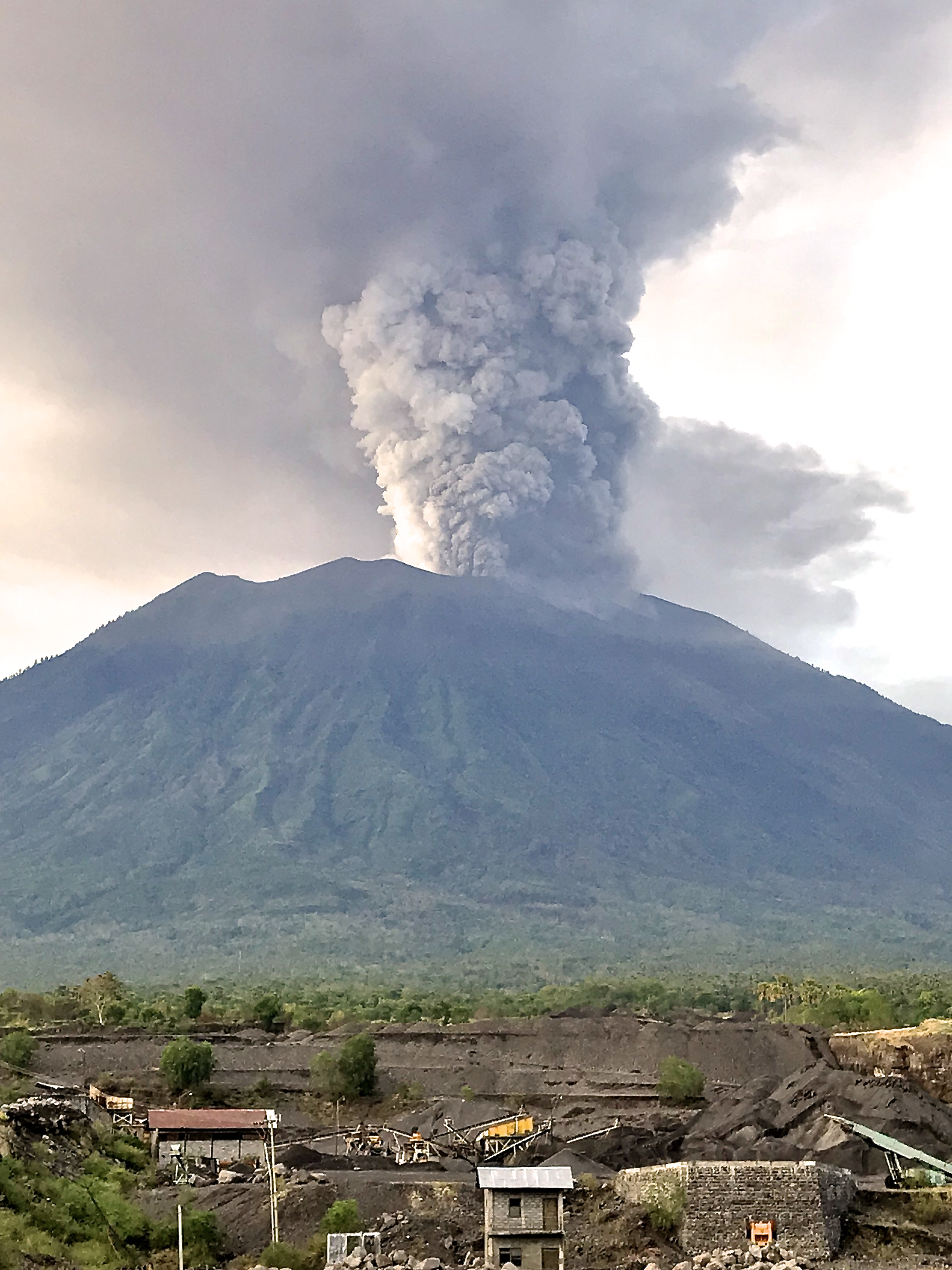 Visualizing Risk: Mt. Agung Bali, Indonesia